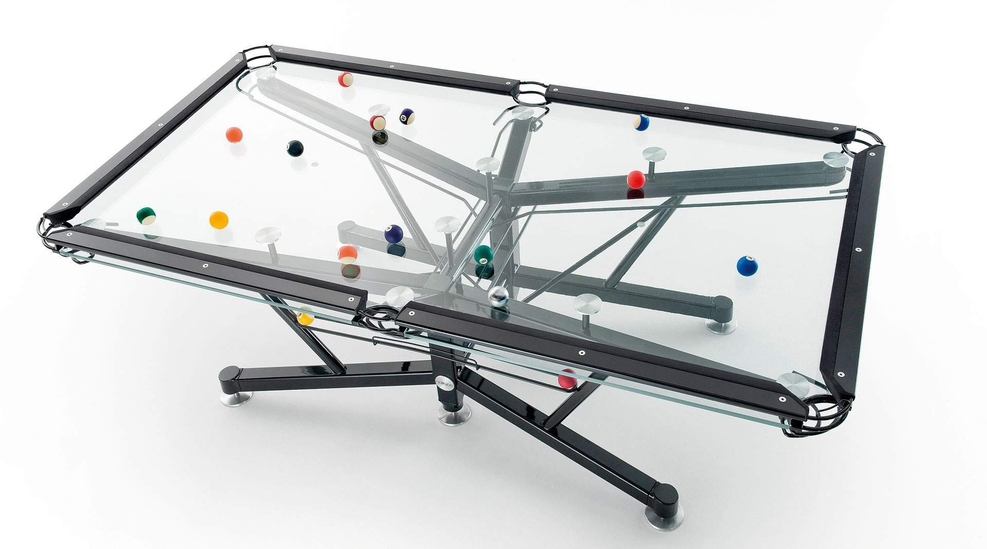 nottage design g1 glass pool table international