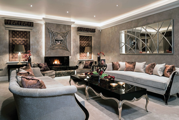 Creating the Perfect Lounge With Advice From Alexander James ...