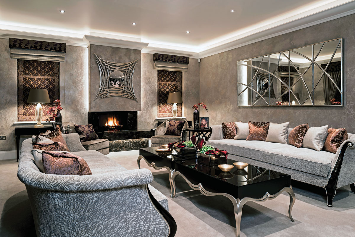 Creating the perfect lounge with advice from alexander for International decor uk