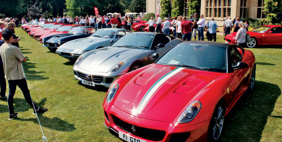 The Ferrari Owners Club of Great Britain Held its Annual National Concours  Event at Stapleford Park Leicestershire in July a30bc6ada305