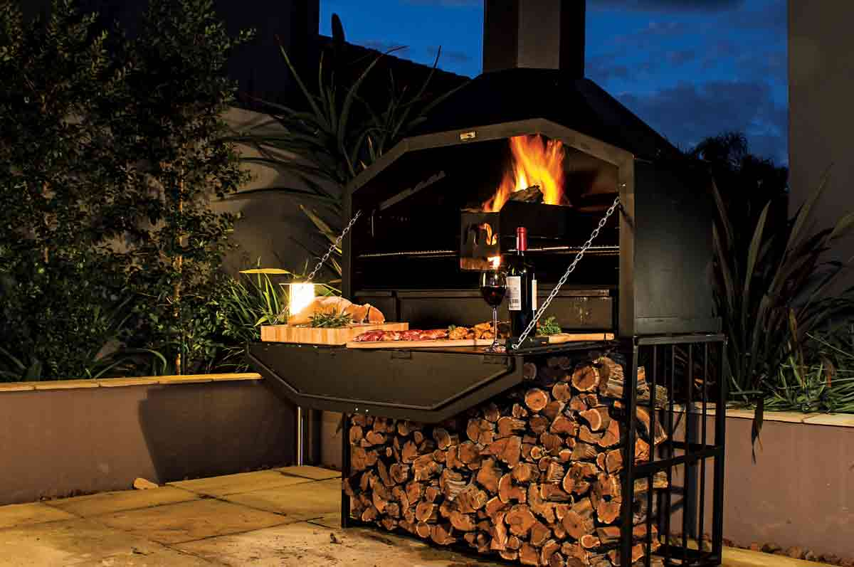 Megamaster Releases A South African Style Braai Open