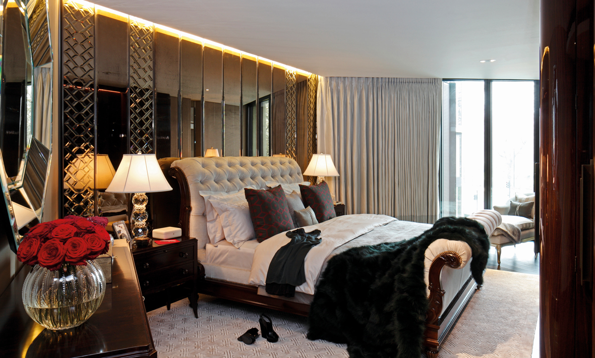 Interior design companies casa forma london jo hamilton for Bedroom designs london