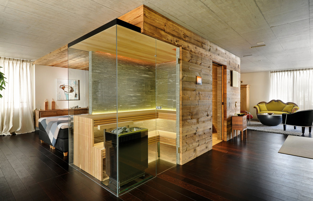 Kung Sauna S Ultra Compact And Stylish Corner Sauna