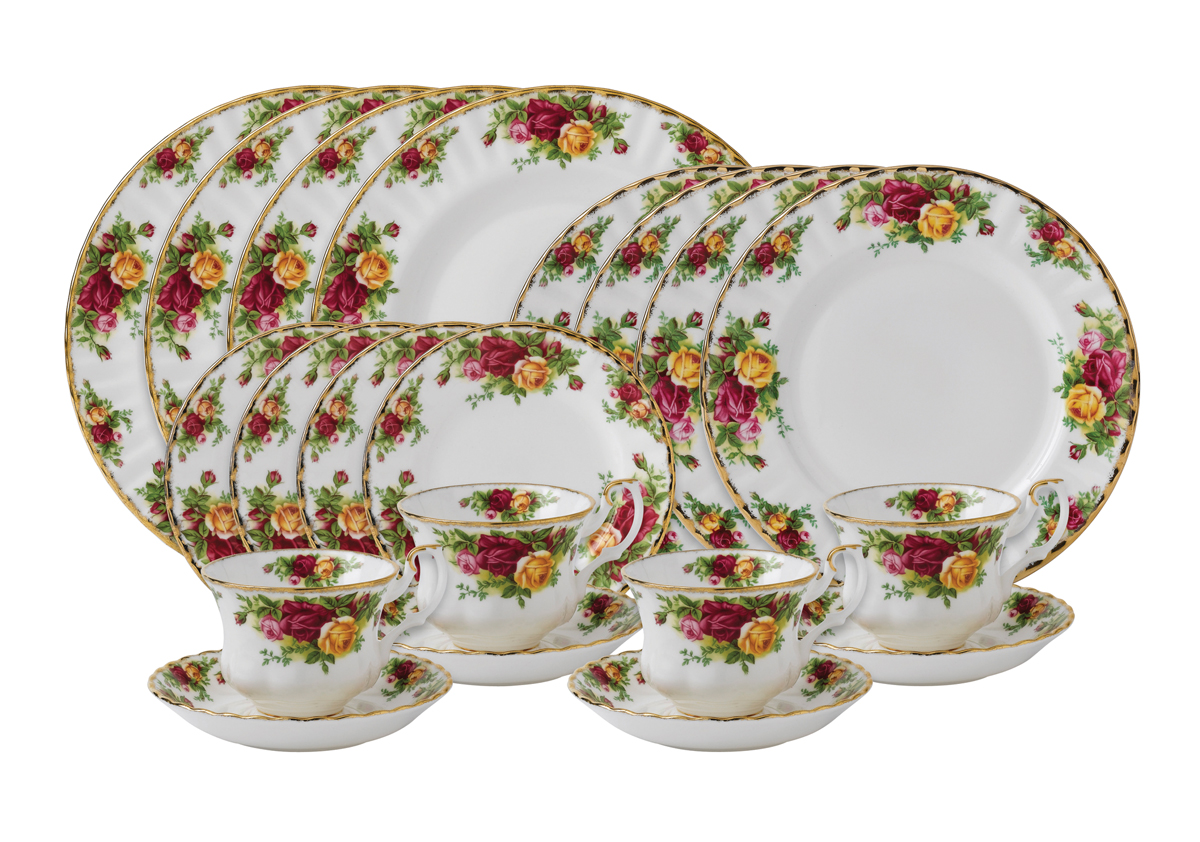 Royal Albert S Classic And Elegant Old Country Roses