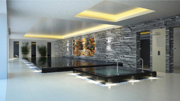 Gorgeous Private Indoor Swimming Pools and Spa Designs ...